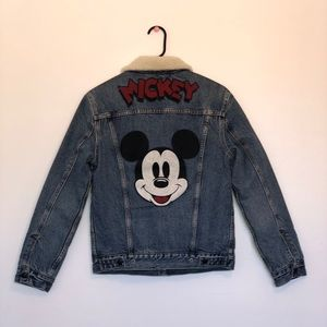 Limited Levi's Mickey Mouse Denim/Jean Jacket